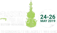 The 15th Greyton Genadendal Classics for All Festival will be held on 24-26 May 2019 From 24-26 May the charming villages of Greyton and Genadendal in the foothills of the Sonderend Mountains in the Overberg come alive with the magical sounds of classical music. Come see why this intimate and fun festival of classical music is one of the most popular festivals in the Western Cape. The atmosphere will be food for the soul. Wherever you go music will be permeating - busking at the market, a flash mob on Saturday morning; violin, guitar, piano, opera in the restaurants.