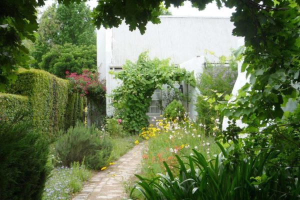 2. Old Cottage Pathway to cottage